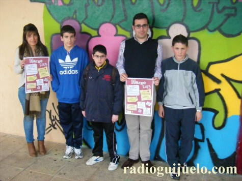Presentación de la agenda del mes de marzo en Guijuelo Joven