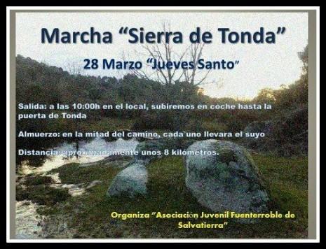 Marcha Sierra de Tonda