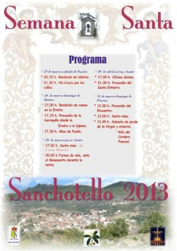 Programa de Semana Santa en Sanchotello