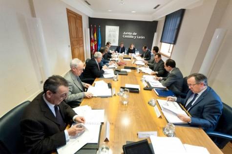 Reunión de los delegados territoriales. Foto Junta Castilla y León
