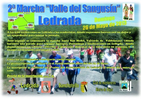 Segunda marcha Valle del Sangusín