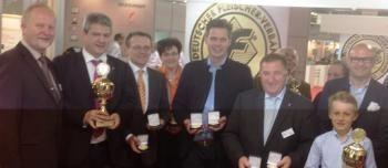 Entrega de premios en Frankfurt. Foto beher.es