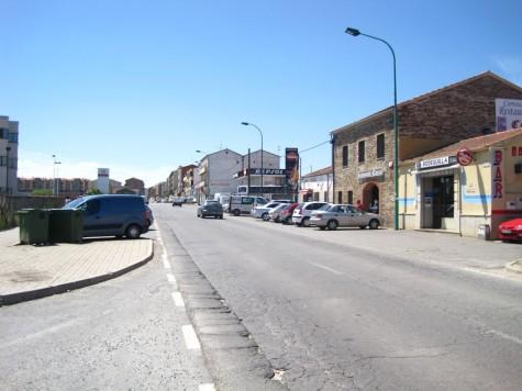 Calle Filiberto Villalobos. Foto archivo
