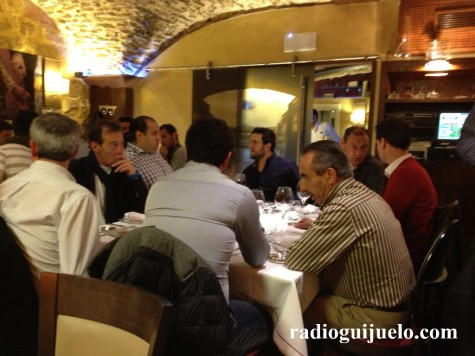 Cena del C.D. Guijuelo en el Mesón de Gonzalo