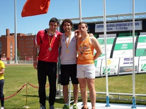 David Alejandro se proclamó Campeón de España Universitario. Foto davidalejandrocastro.blogspot.com