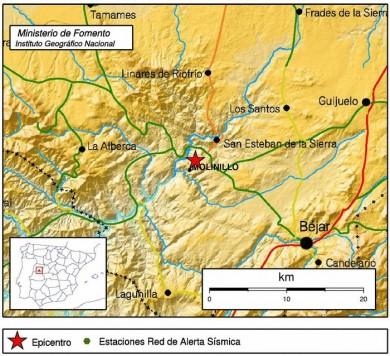 Mapa del Insituto Geográfico Nacional
