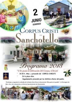 Fiesta del Corpus en Sanchotello
