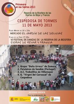 Festival de danzas en Cespedosa