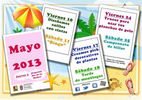 Agenda de mayo de Guijuelo Joven