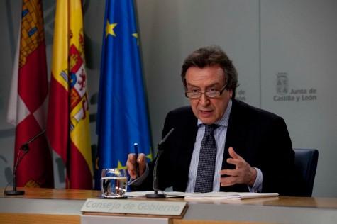 Último Consejo de Gobierno de la Junta de Castilla y León . Foto jcyl