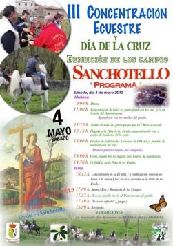 Día de la Cruz en Sanchotello
