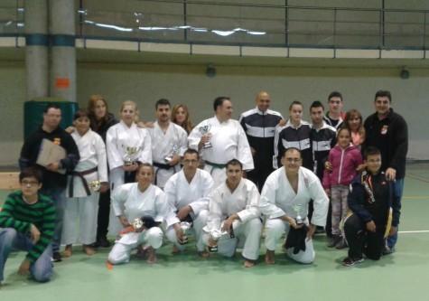 Campeonato Regional de kárate de veteranos en Guijuelo