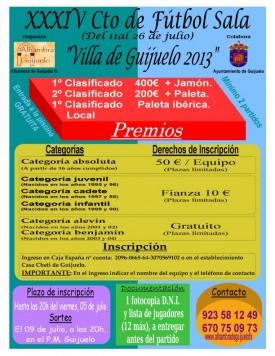 Cartel Cto Verano 2013