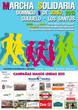 Cartel Marcha Solidaria