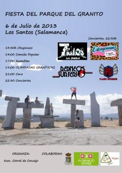 Fiesta granito en  Los Santos 2013