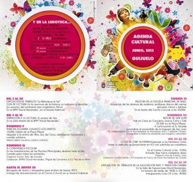 Agenda cultural del mes de junio