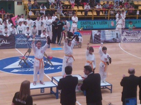 Campeonato Provincial kárate. Foto H.D.