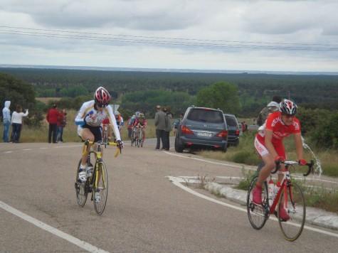 Álvaro Sánchez en la  carrera de Navas de Oro