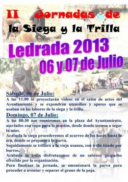 Jornadas de la Siega y la Trilla en Ledrada