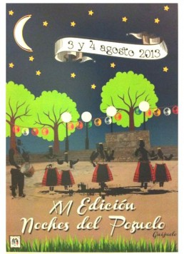 Cartel anunciador de las Noches del Pozuelo 2013