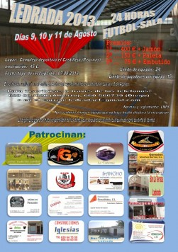 Fútbol sala en Ledrada