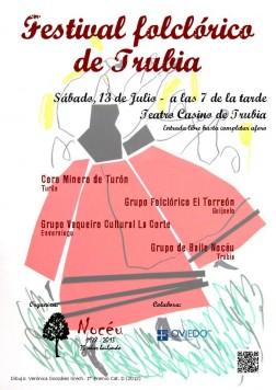 Festival folclórico de Trubia