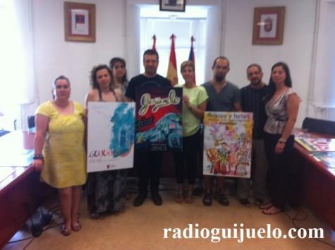 Jurado del concurso del cartel de fiestas de Guijuelo 2013