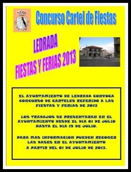Concurso cartel de Ledrada