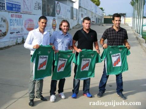 Rubén de la Barrera, Chema, Álex López y Álvaro García