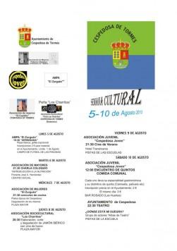Semana Cultural en Cespedosa