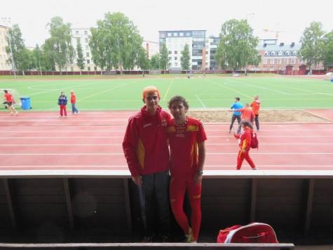 Bruno Hortelano y David Alejandro en Finlandai. Foto David Alejandro