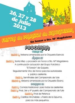 Fiestas de Palacios 2013