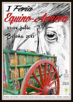 Feria equino arriera en Beleña
