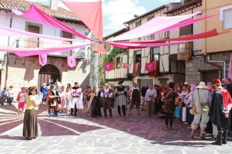 Fiesta Medieval en San Esteban . Foto el Día de San Esteban