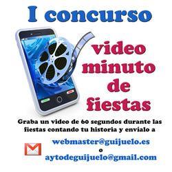 I concurso video minuto de fiestas