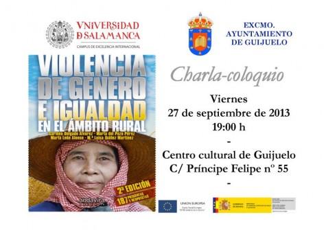 Charla coloquio en Guijuelo