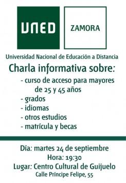 Charla informativa en Guijuelo
