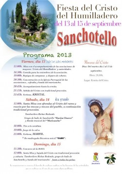Fiestas en Sanchotello 2013
