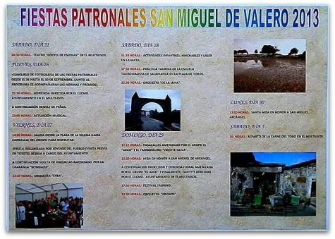 Fiestas en San Miguel de Valero. Foto cuaderno de Entresierras