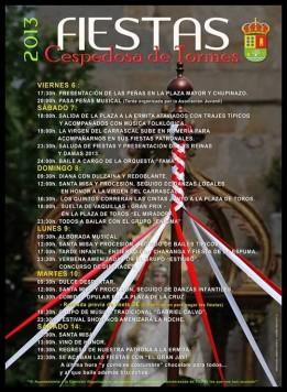 Programa festivo en Cespedosa