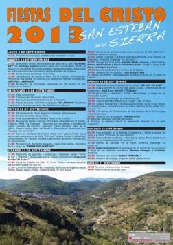 Fiestas del Cristo en San Esteban de la Sierra