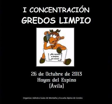 I Concentración Gredos Limpio