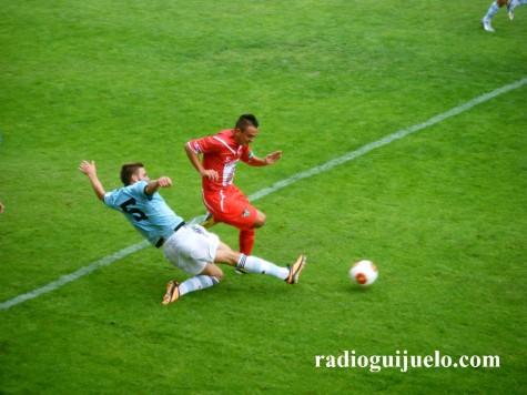 Victoria del C.D. Guijuelo por 1 a 3 ante el R.C. Celta de Vigo B