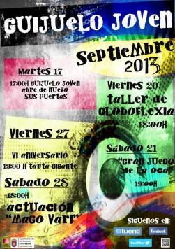 Agenda de septiembre en Guijuelo Joven