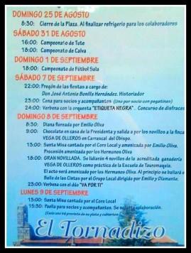 Fiestas en El Tornadizo. Foto Cuaderno de Entresierras