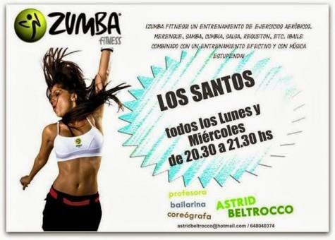Curso de Zumba en Los Santos