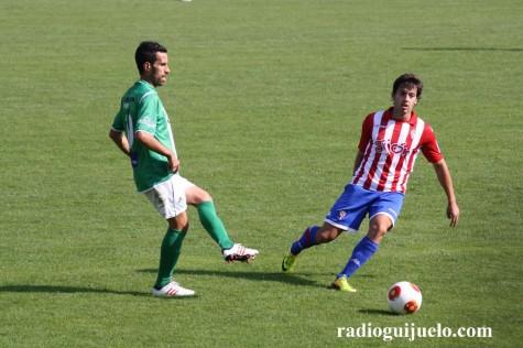 Goleada del C.D. Guijuelo ante el Sporting de Gijón B