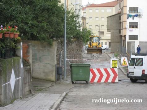 Obras en la Calle Allende