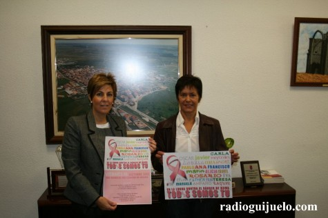 Presentación del programa de actos del Día Internacional del cáncer del mama