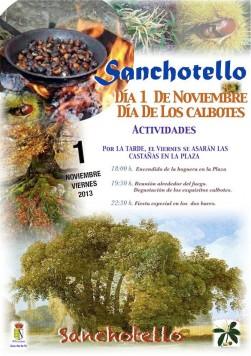 Día de los calbotes en Sanchotello